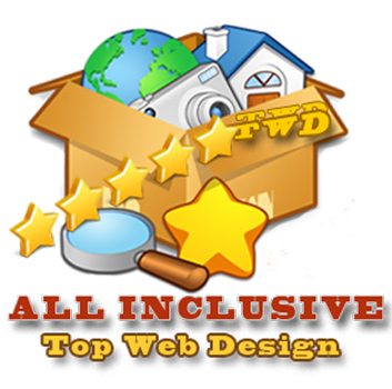All Inclusive Top Web Design Paket